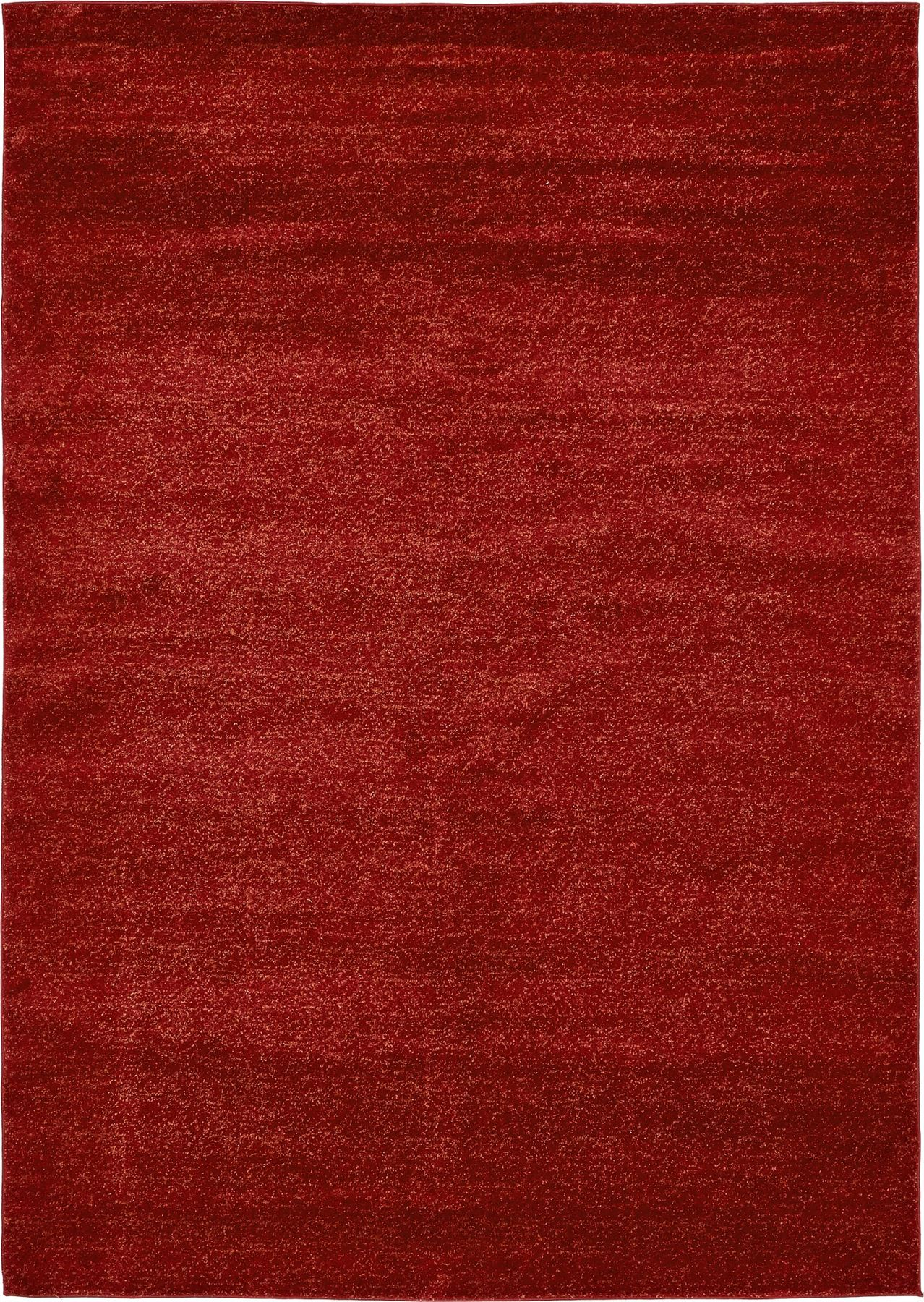 Soft rug plush carpet modern solid area rug floor room for Red area rugs contemporary