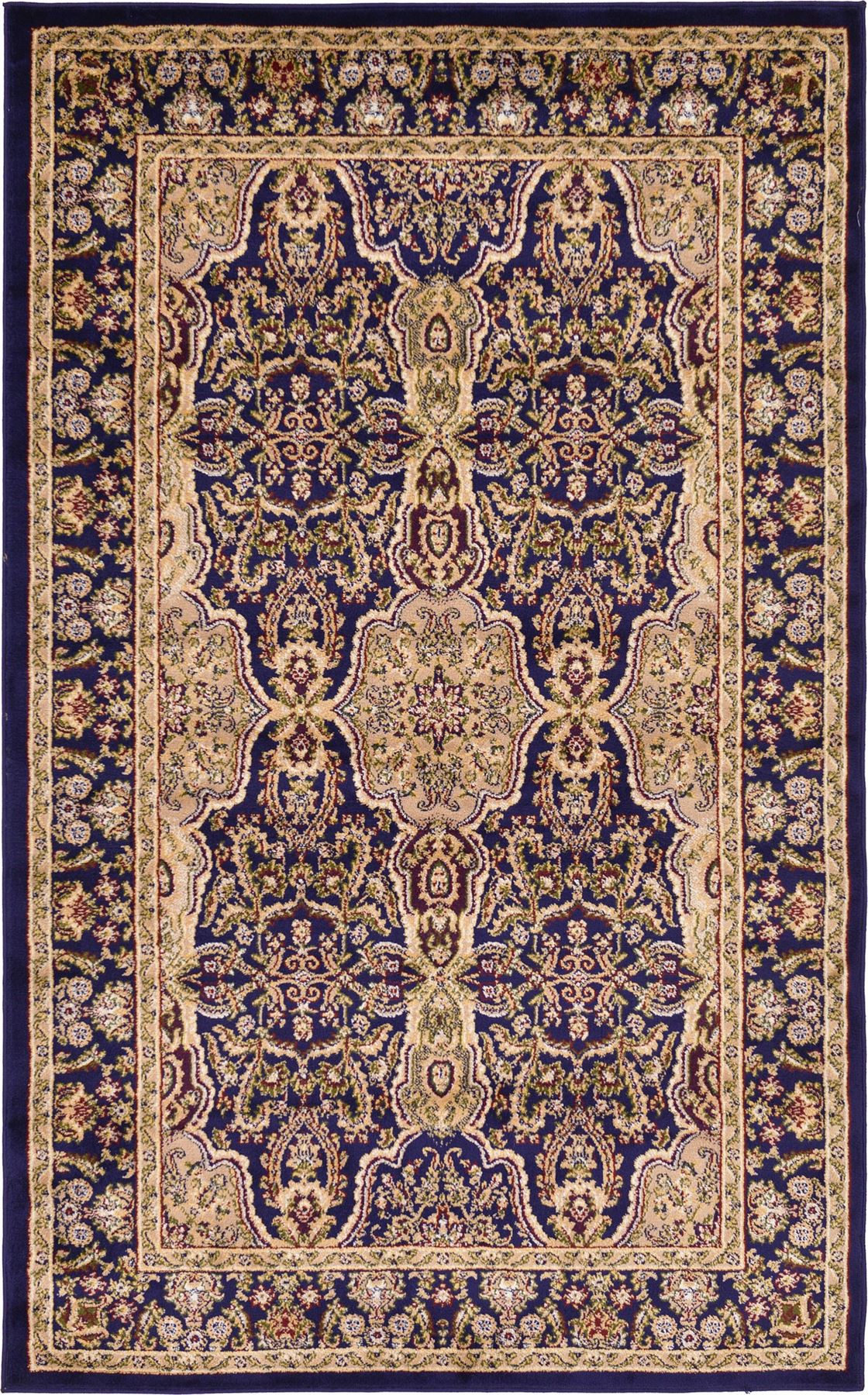 Traditional persian design rug unique carpets different for Unique carpet designs