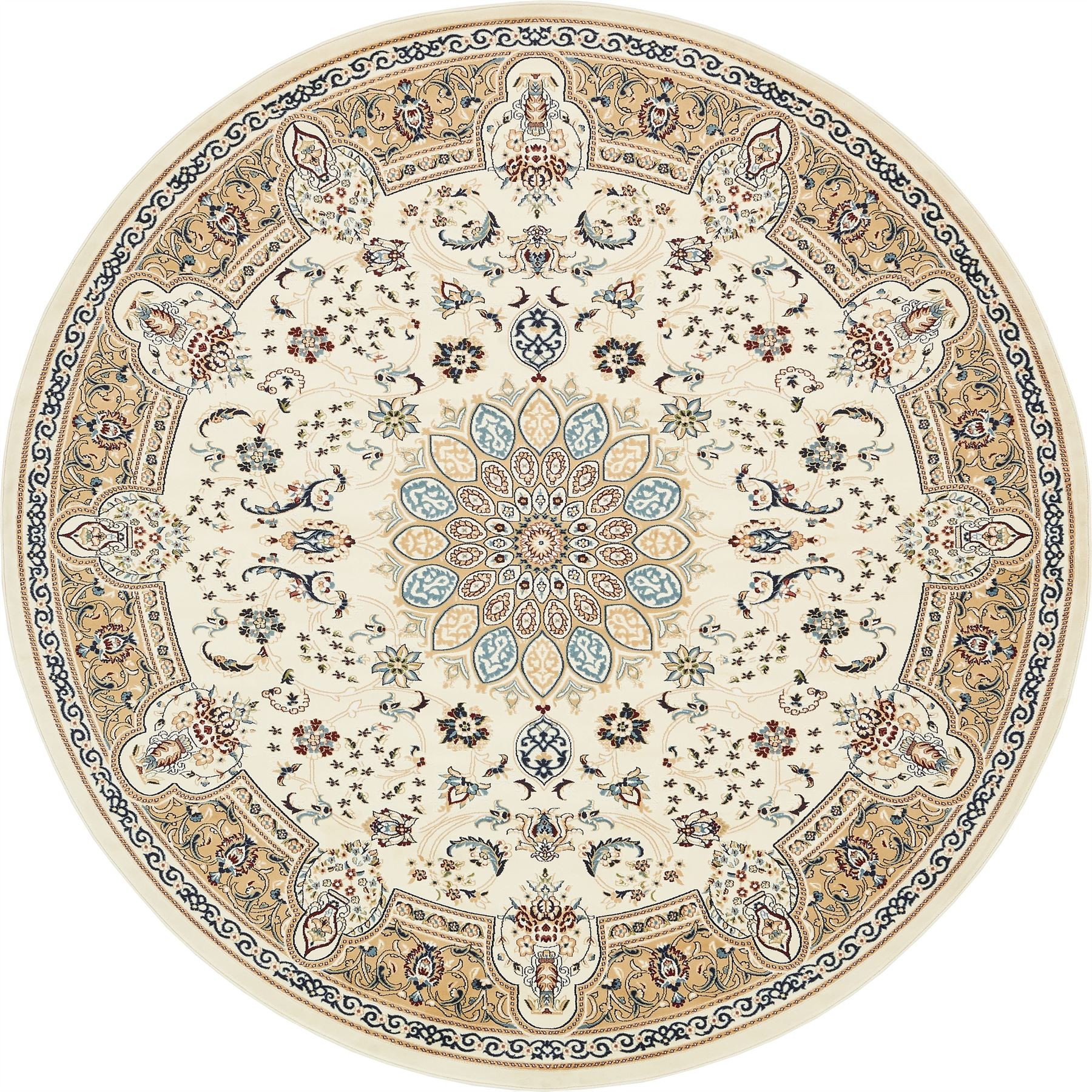 Medallion Traditional Carpets Floral Rugs Area Rug Floor
