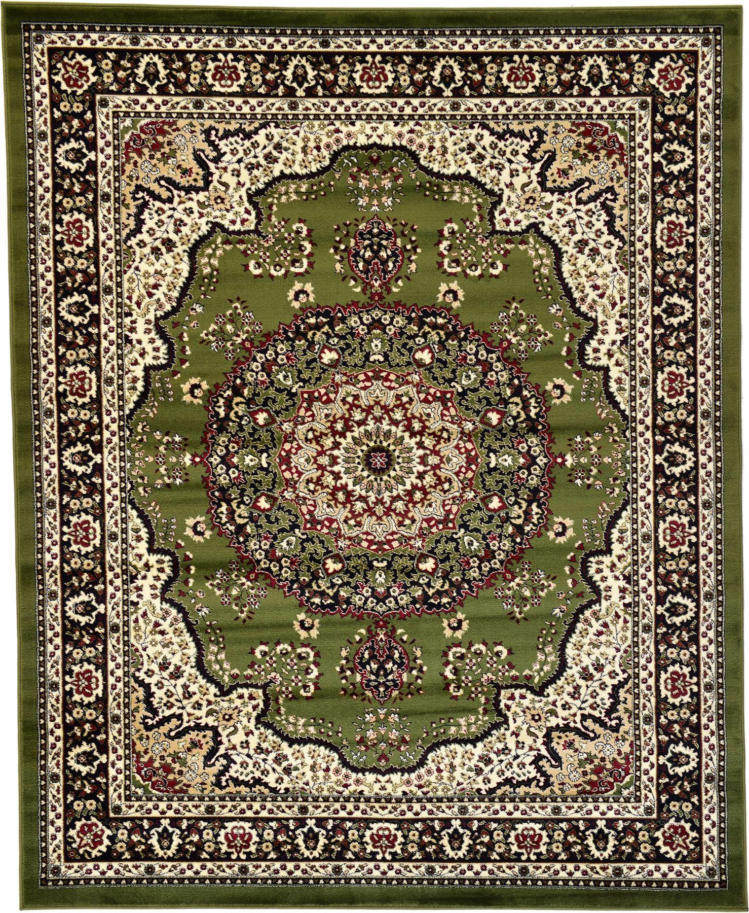 Persian Rugs: Persian Kashan Design Rugs Traditional Area Rug Medallion