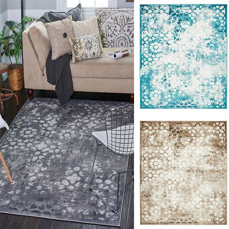 Vintage Home Rug: Faded Rugs Living Room Carpets Floor Rug Vintage Style