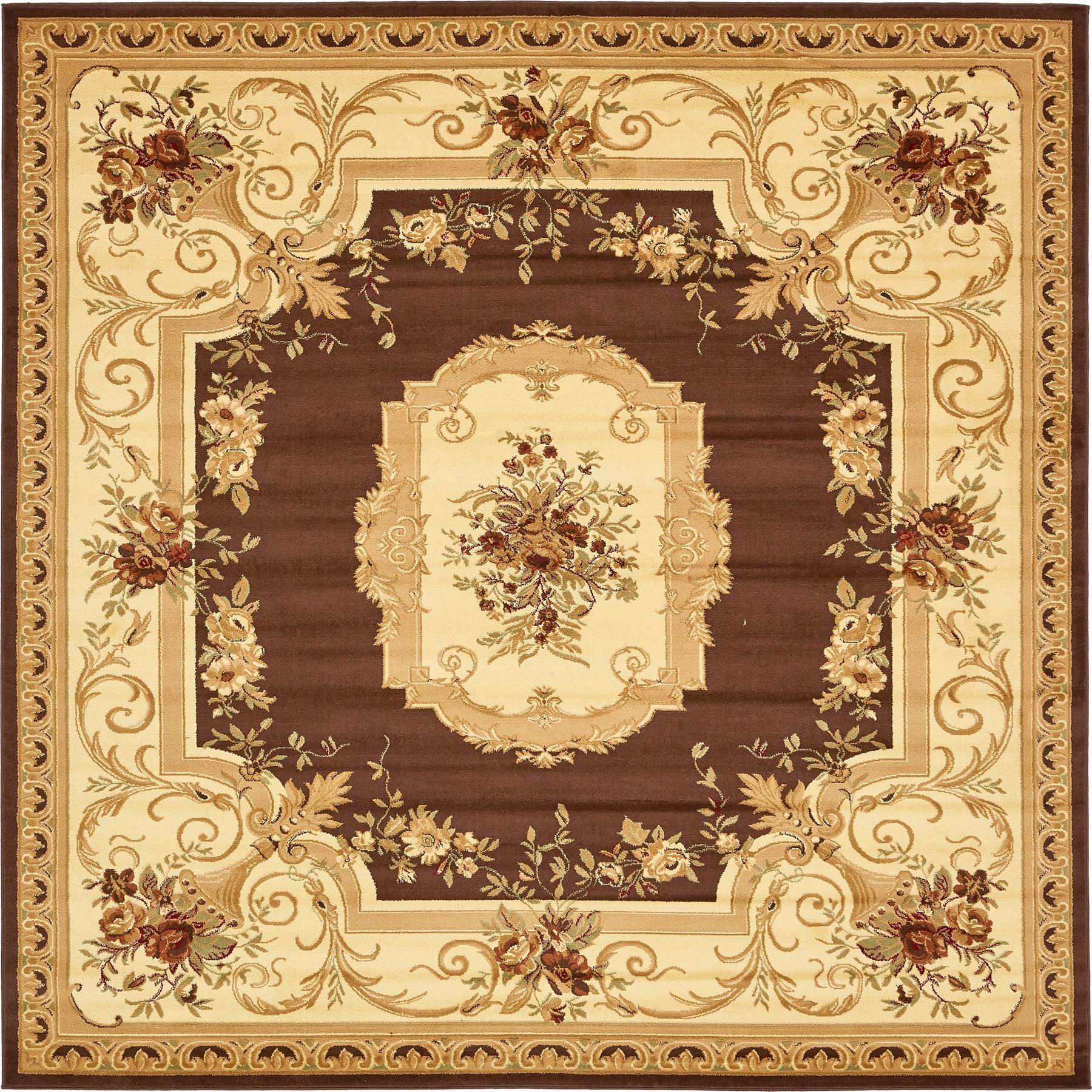 Oriental Rugs: Oriental Classic Aubusson Rugs Carpets New Area Rug Floor