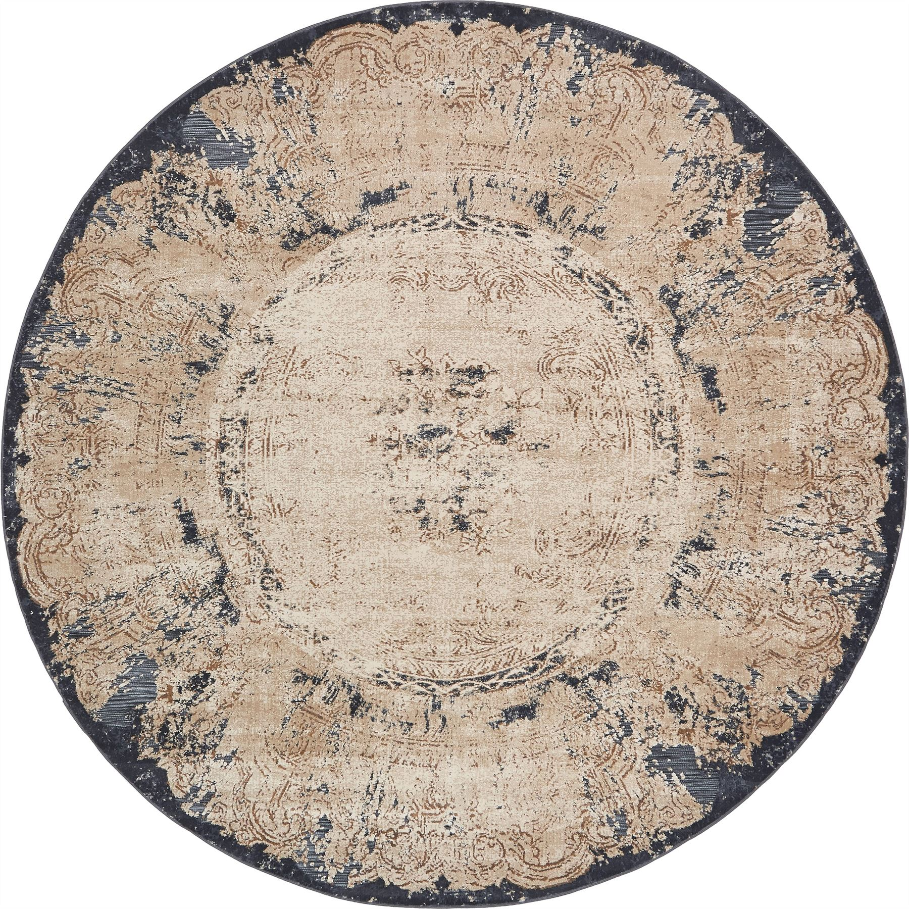 Medallion Area Rug Traditional Floral Modern Carpets Over