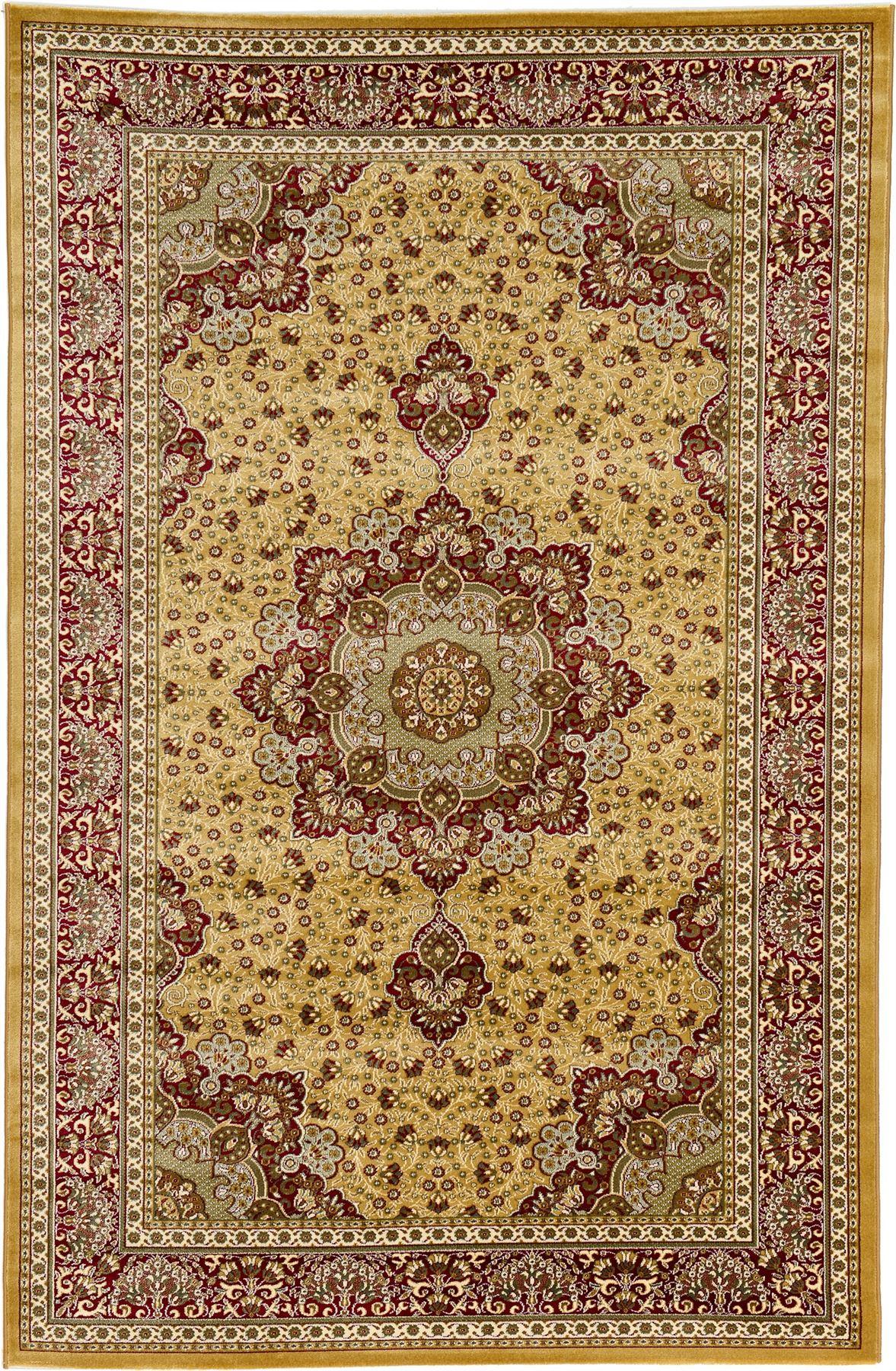 Persian 6 5 X 9 6 Kashan Design Rug Traditional Area
