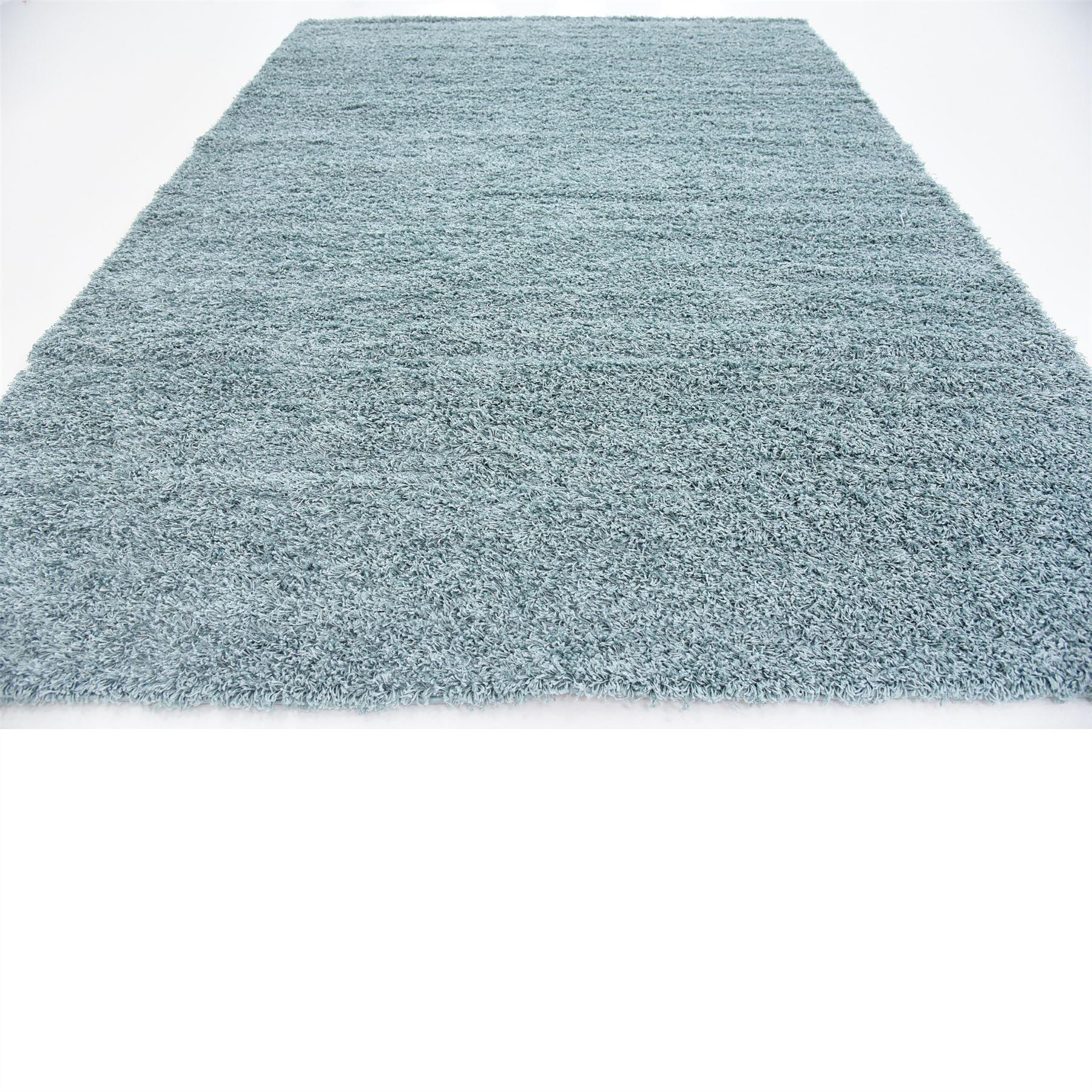 Light Slate Blue 8 X 10 11 Solid Shag Modern Floor