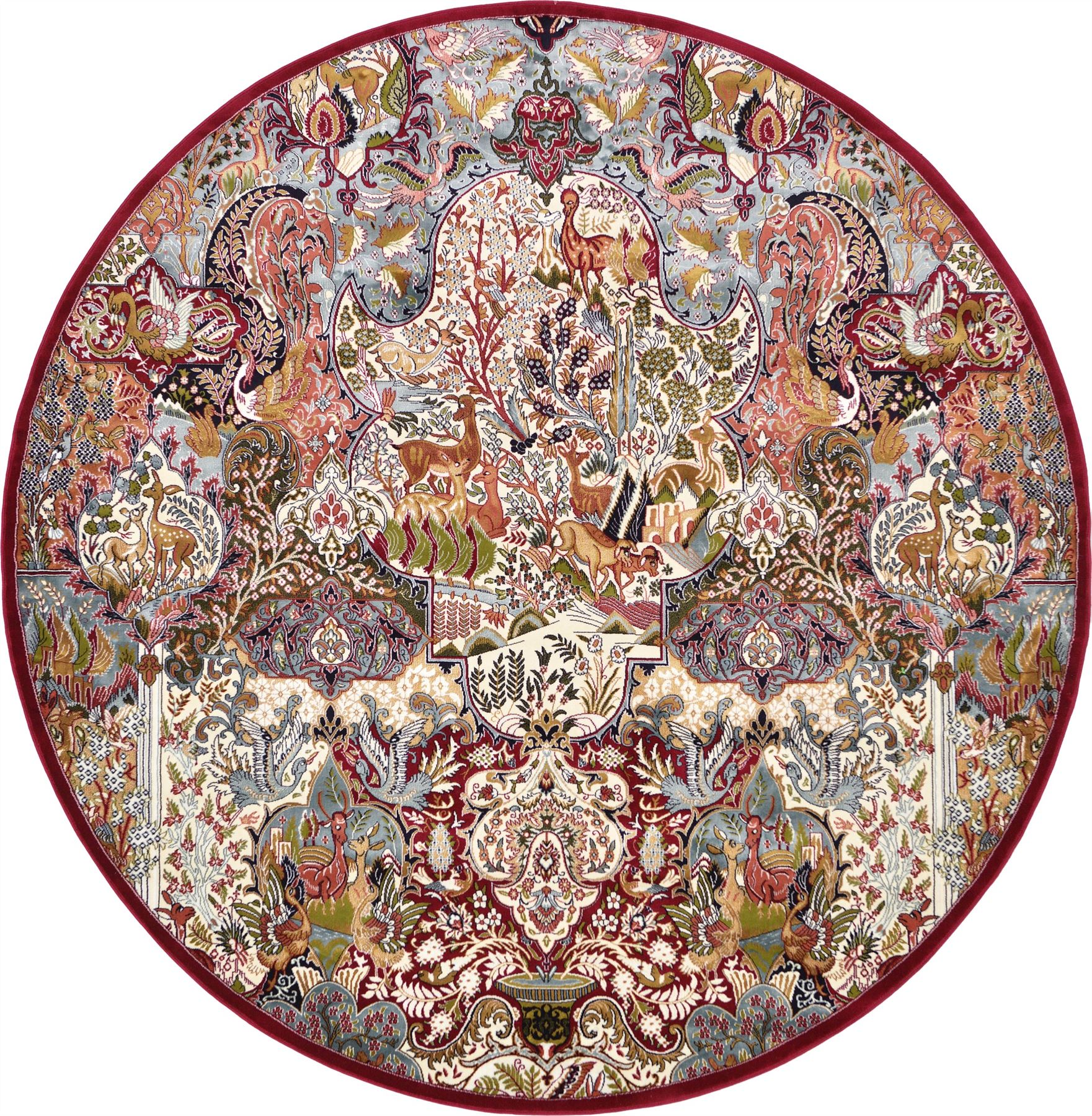 Traditional Rugs In Different Shapes Persian Design