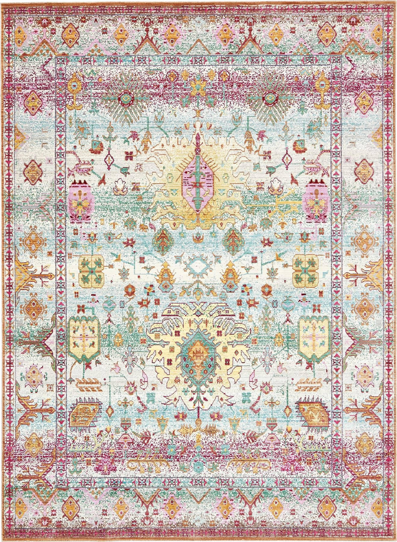 Persian Style Rug Traditional Rug Oriental Area Rug