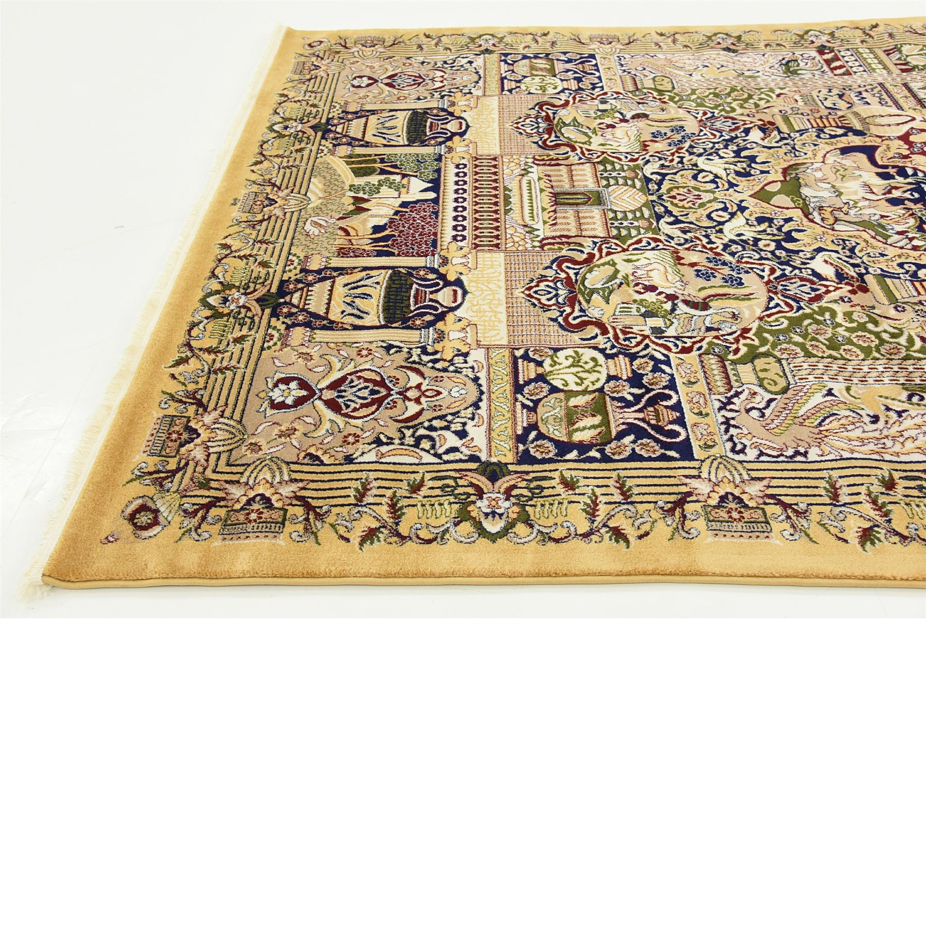 Traditional Area Rug Persian Design Oriental Style Rugs