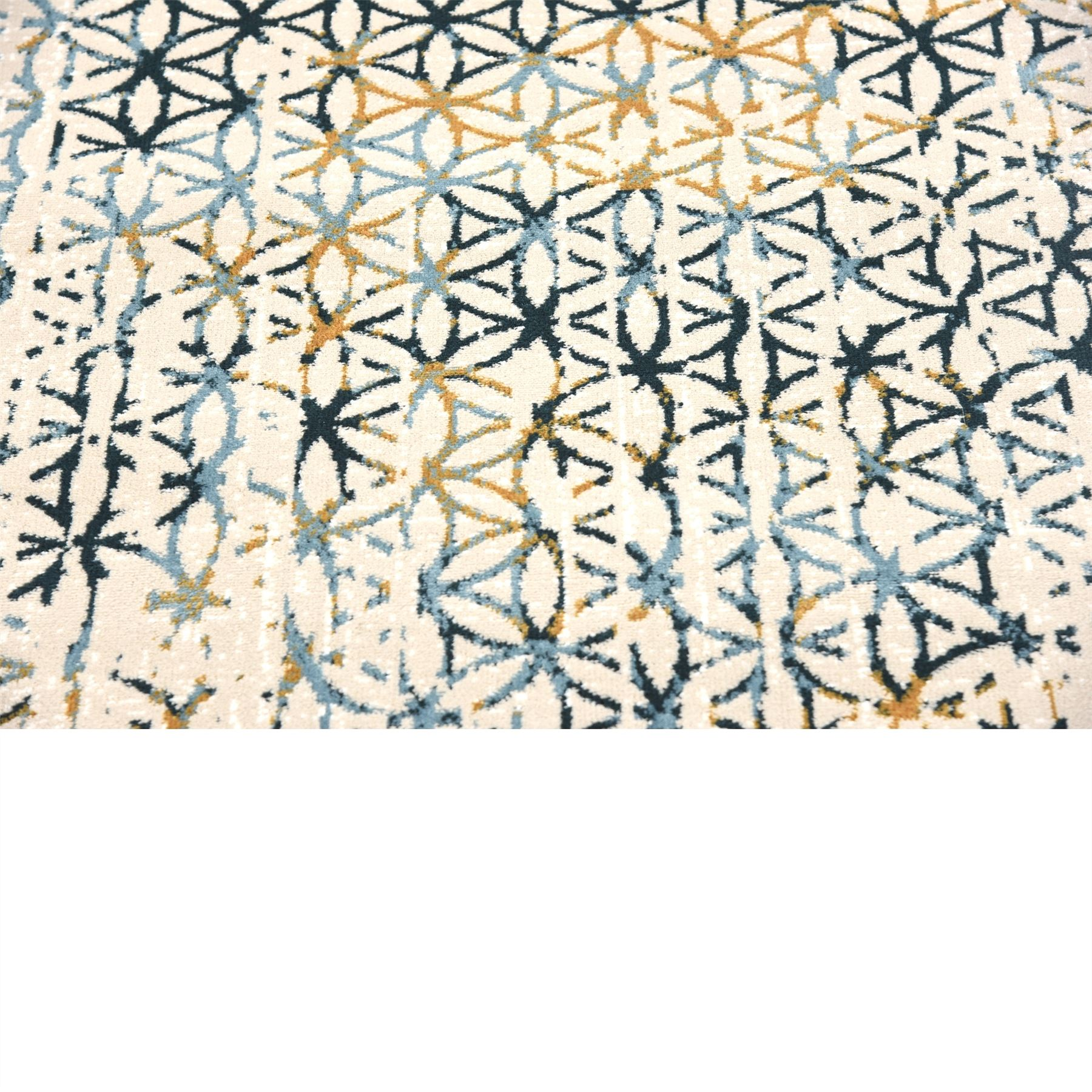 Modern Vintage Style Area Rug Contemporary Soft Geometric
