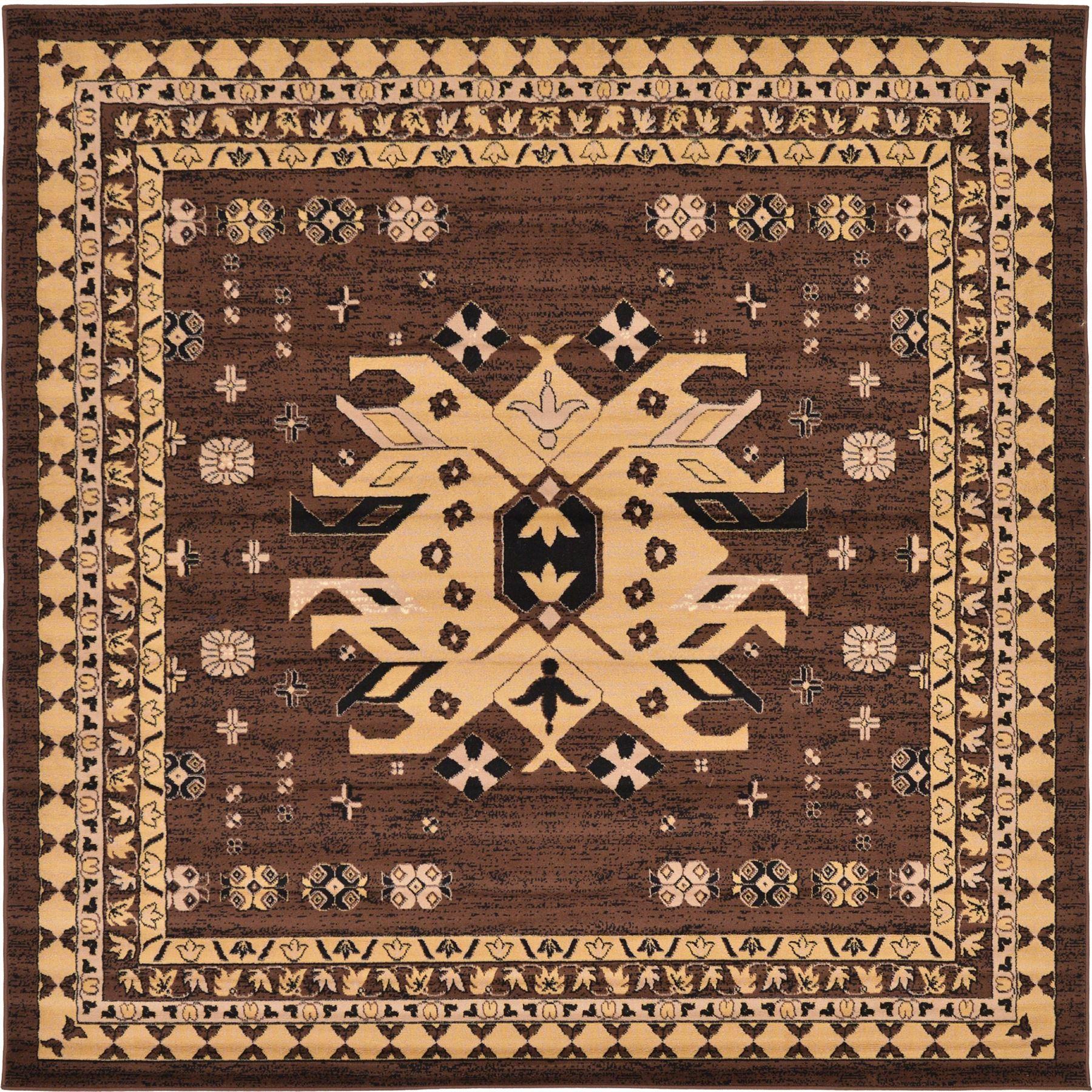 Traditional Area Rugs: New Persian Heriz Rugs Traditional Area Rug Classic Style