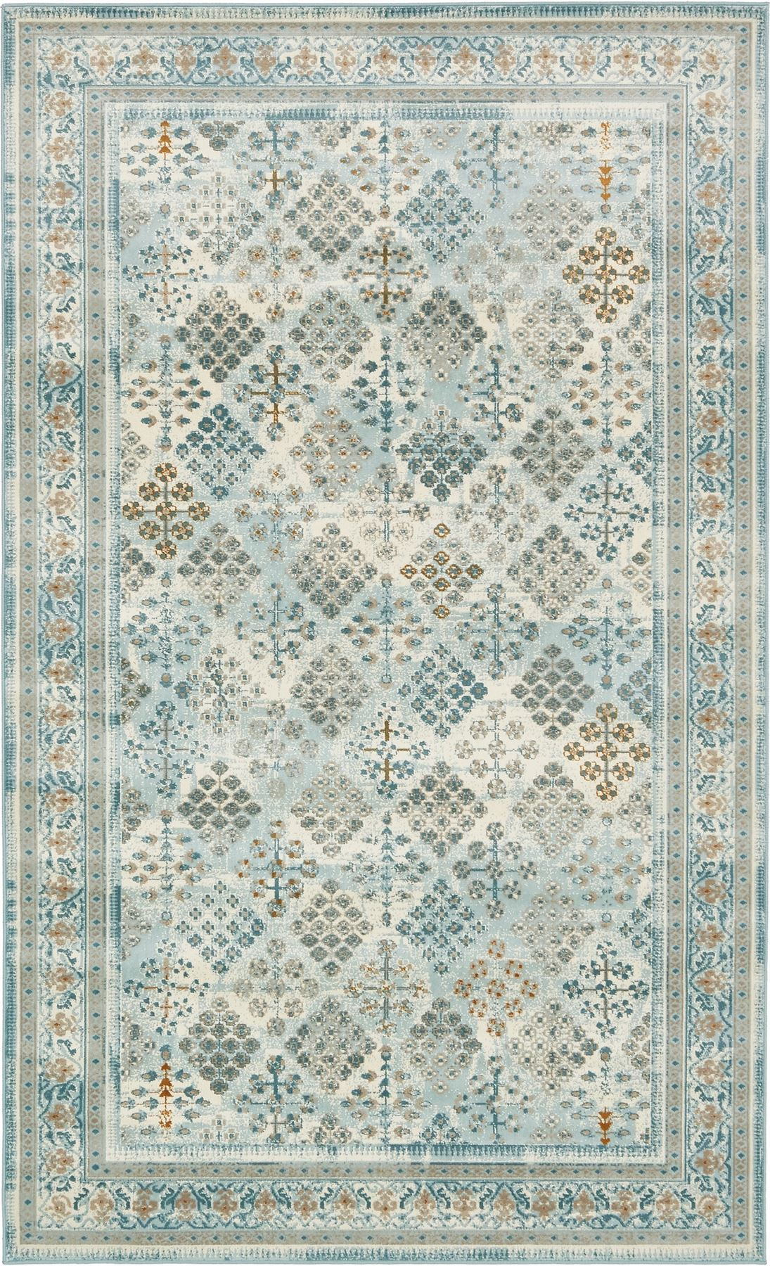 Over dyed traditional carpet vintage style modern rugs for Vintage style area rugs
