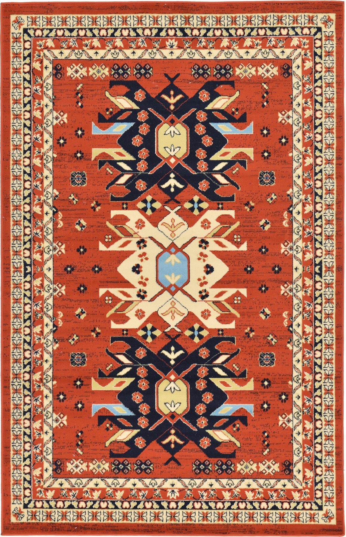 28 Large Hearth Rugs Traditional Persian Design Silk Like