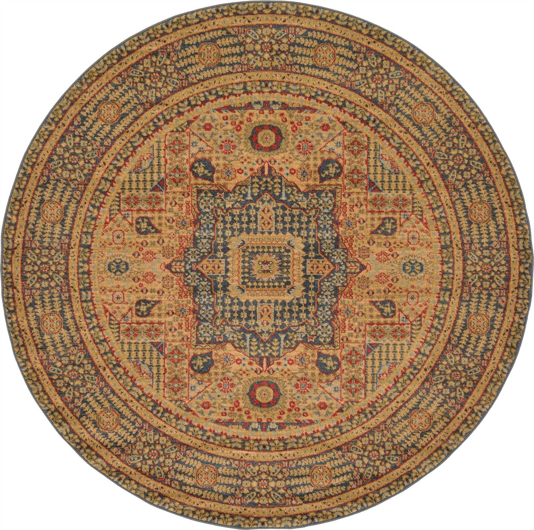Vintage Throw Rugs: Medallion Carpet Traditional Rugs Floral Area Rug Vintage