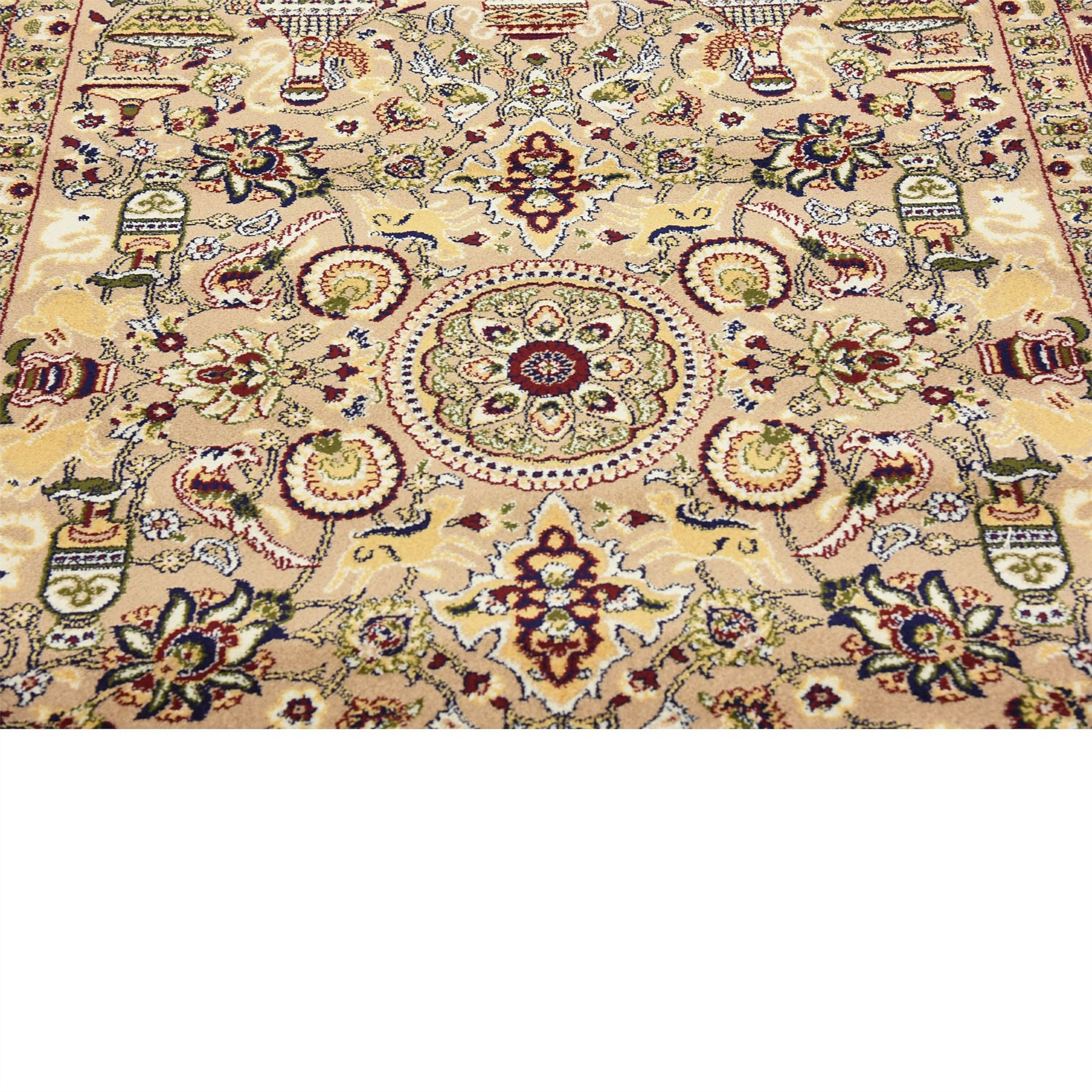 5x8 Hamadan Authentic Rugs Deals Direct Handmade Persian: Traditional Large Persian Design Area Rug Small Vintage