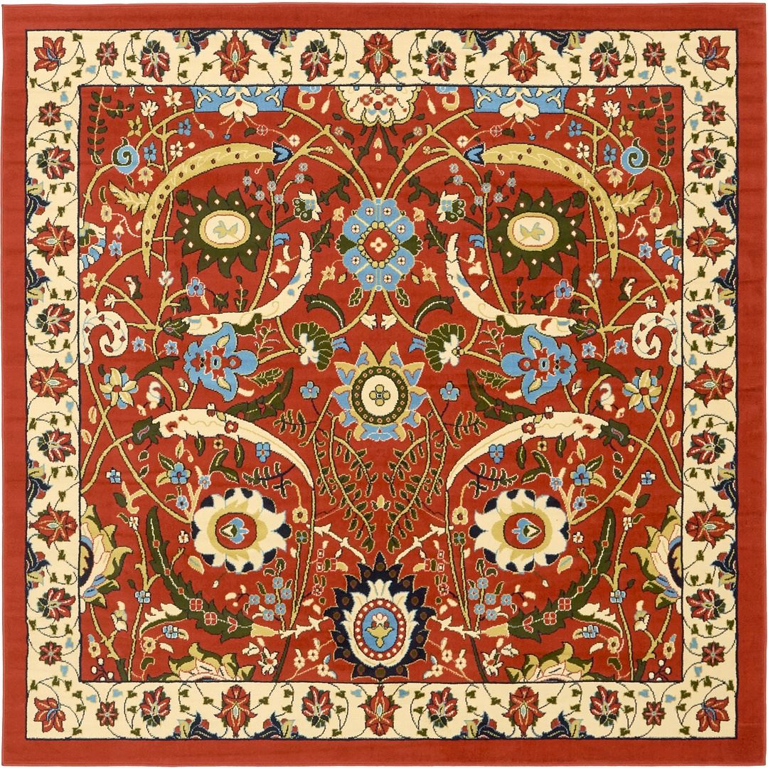 Traditional carpet all over small persian design oriental for Traditional carpet designs