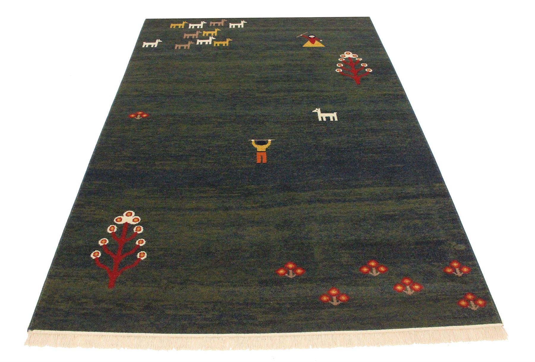 traditionell persisch design gabbeh rug verschiedene gr en eghlid teppich ebay. Black Bedroom Furniture Sets. Home Design Ideas