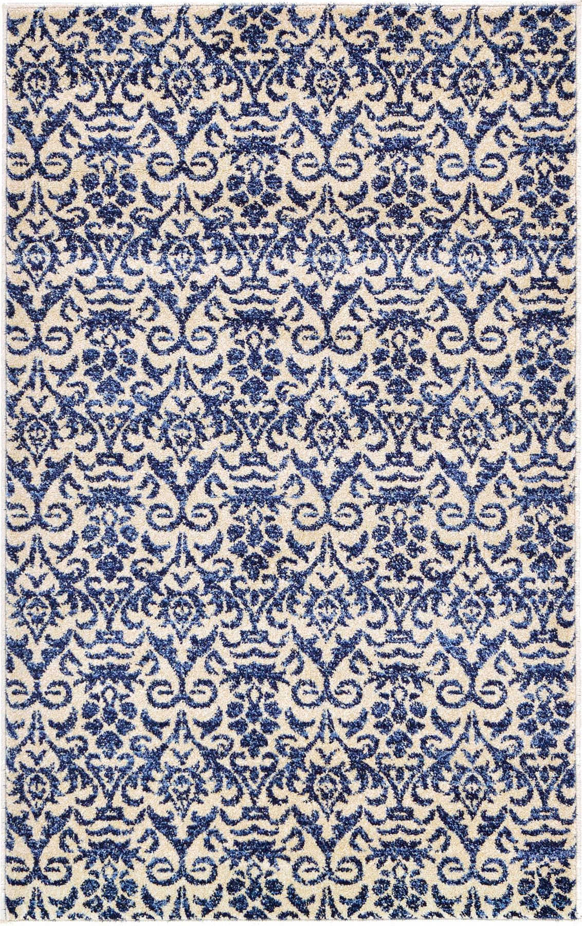 Modern Area Rug Floor Rugs Contemporary Carpet New Blue