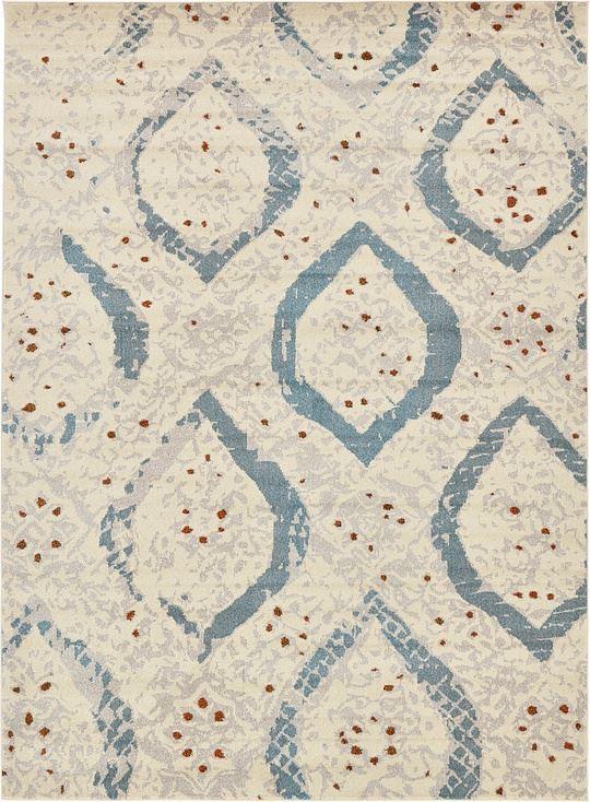 Modern cream contemporary carpet new area rug modern round for Modern round area rugs