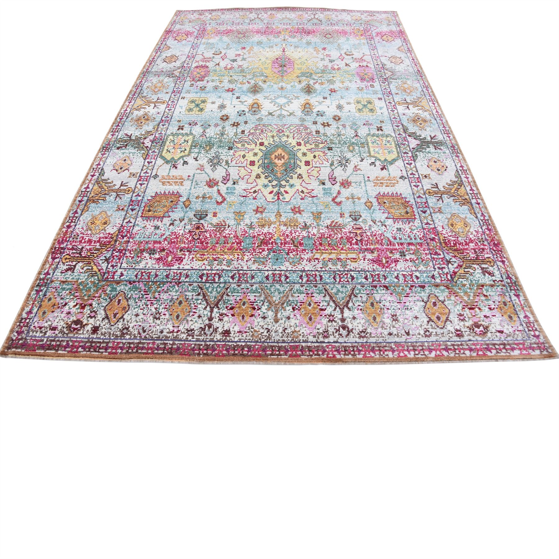 Persian Style Rug Traditional Rug Oriental Area Rug Light