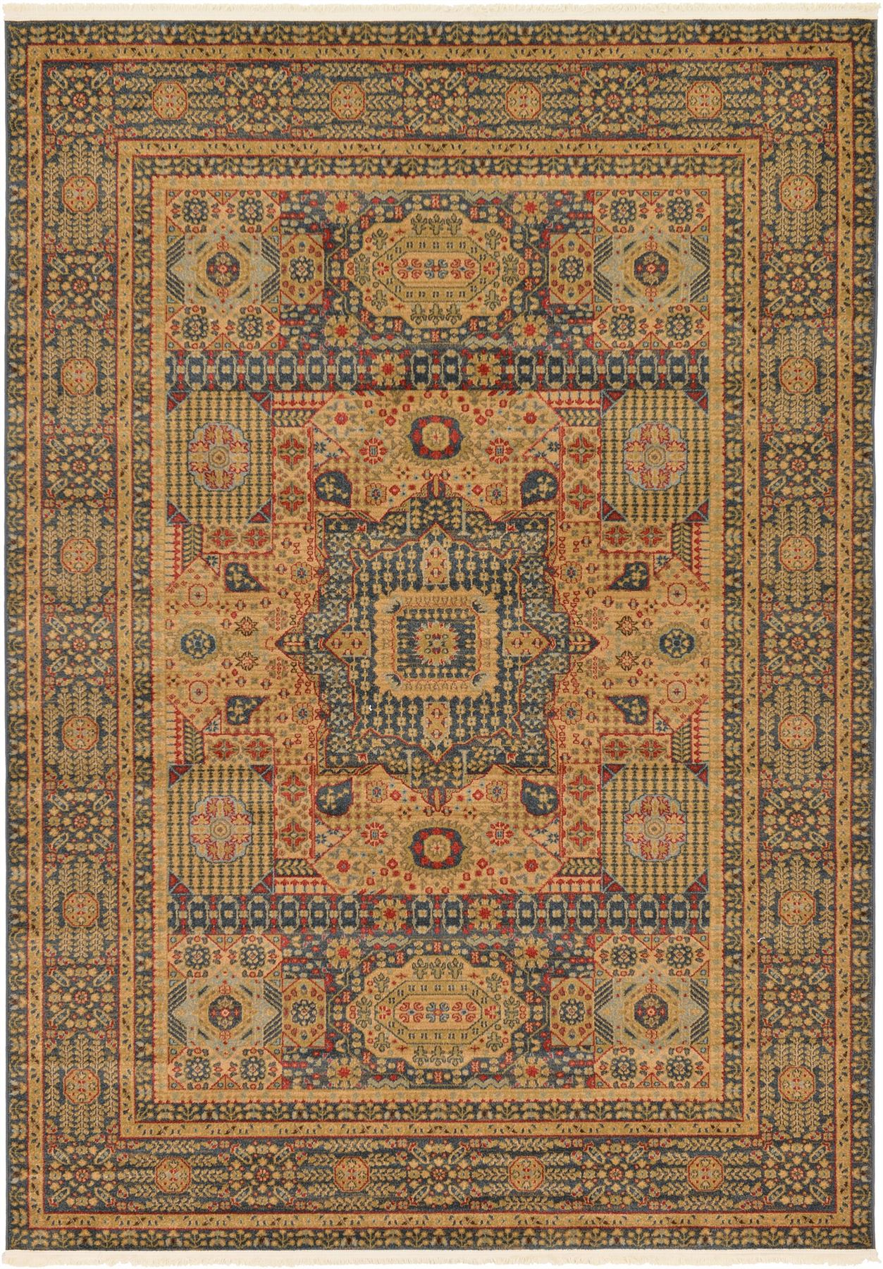 Medallion carpet traditional rugs floral area rug vintage for Vintage style area rugs
