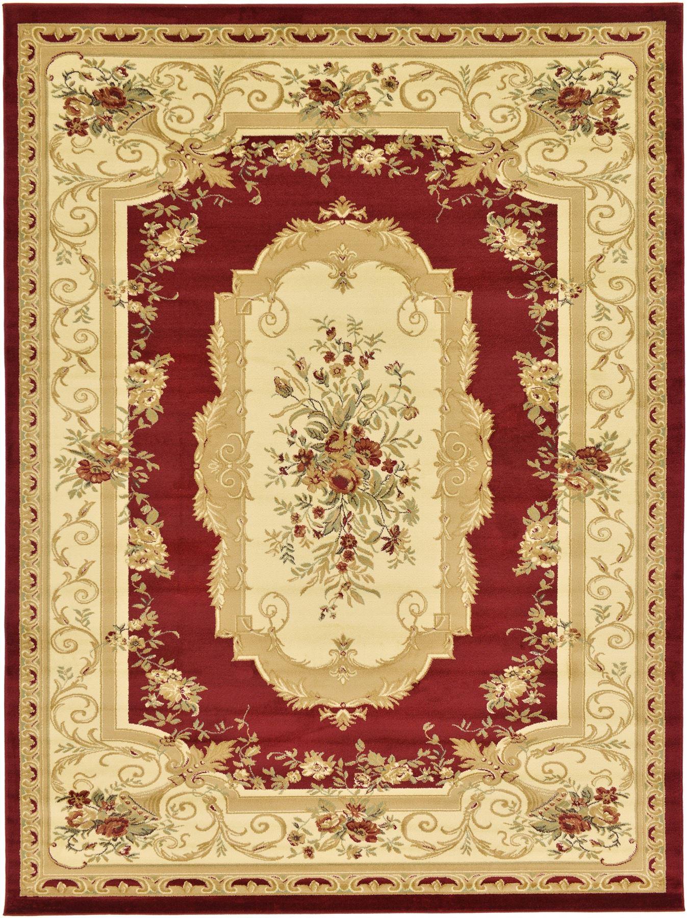 Oriental Classic Aubusson Rugs Carpets New Area Rug Floor