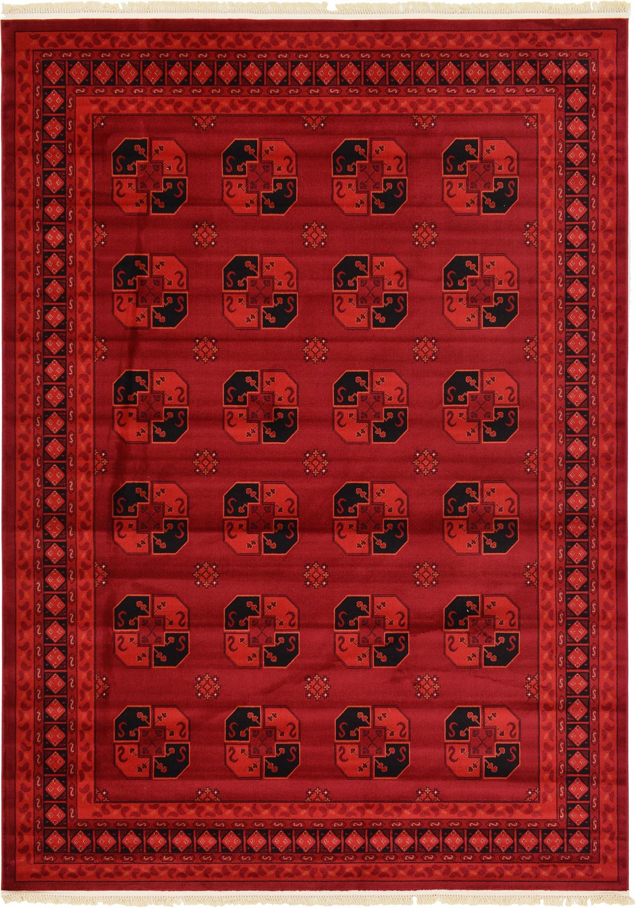 Traditional Red Rug New Area Rug Oriental Persian Classic