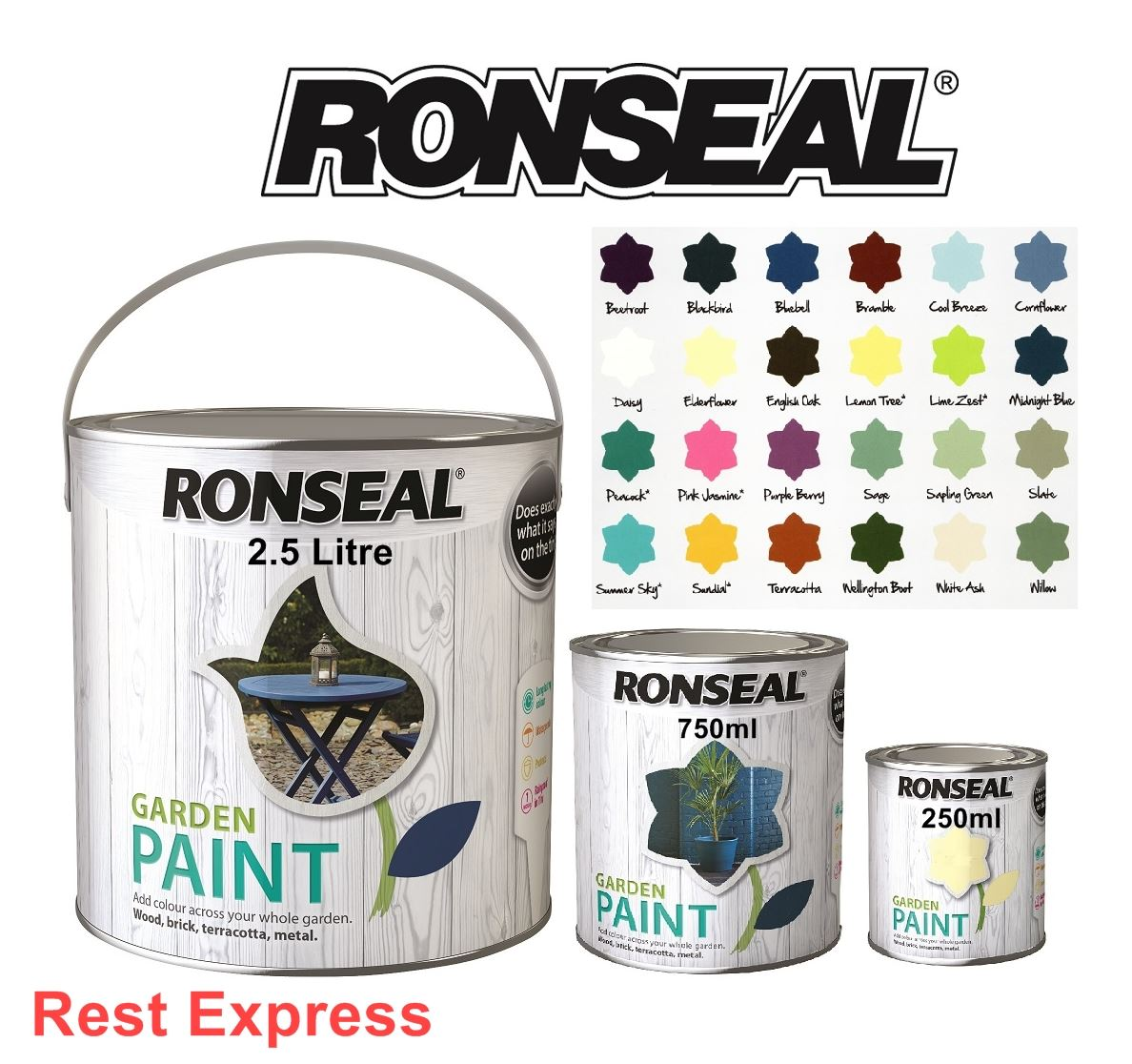 Scenic Ronseal Garden Paint For Wood Metal Brick Stone Amp  With Foxy Ronseal Garden Paint For Wood Metal Brick Stone  Terracotta  Shed   Fence With Alluring Marquess Of Anglesey Covent Garden Also Gym In Garden In Addition Chandigarh Rock Garden And London Hatton Garden As Well As Gifts For People Who Like Gardening Additionally Unusual Gifts For Gardeners From Ebaycouk With   Foxy Ronseal Garden Paint For Wood Metal Brick Stone Amp  With Alluring Ronseal Garden Paint For Wood Metal Brick Stone  Terracotta  Shed   Fence And Scenic Marquess Of Anglesey Covent Garden Also Gym In Garden In Addition Chandigarh Rock Garden From Ebaycouk