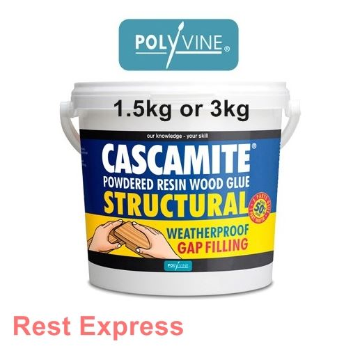 Polyvine Cascamite Structural Powdered Resin Wood Glue Adhesive Or 3kg Ebay