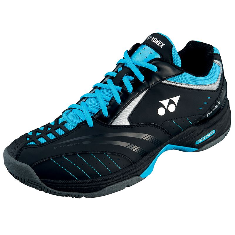 Yonex SHT-Durable Tennis Shoes (Black/Blue) | eBay