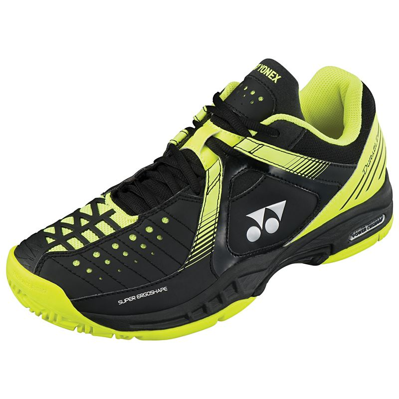 Yonex SHT-Durable Tennis Shoes (Black Lime) | eBay
