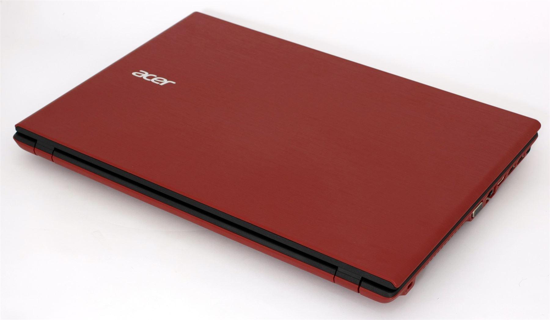 a acer 5 571 laptop red intel i3 5005u 2ghz 4gb 320gb ebay. Black Bedroom Furniture Sets. Home Design Ideas