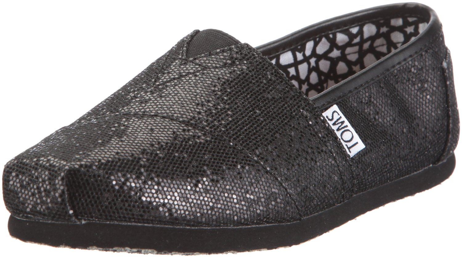 Shop Women's Toms Black size 7 Flats & Loafers at a discounted price at Poshmark. Description: Excellent condition! These Classics feature a glitter upper for added glam! MSRP $ Sold by goggetg. Fast delivery, full service customer support.