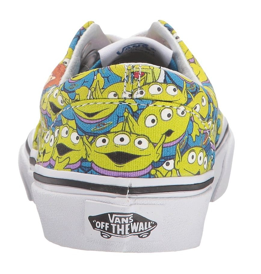 Toys For Trainers : Vans u era toy story green aliens kids trainers shoes ebay