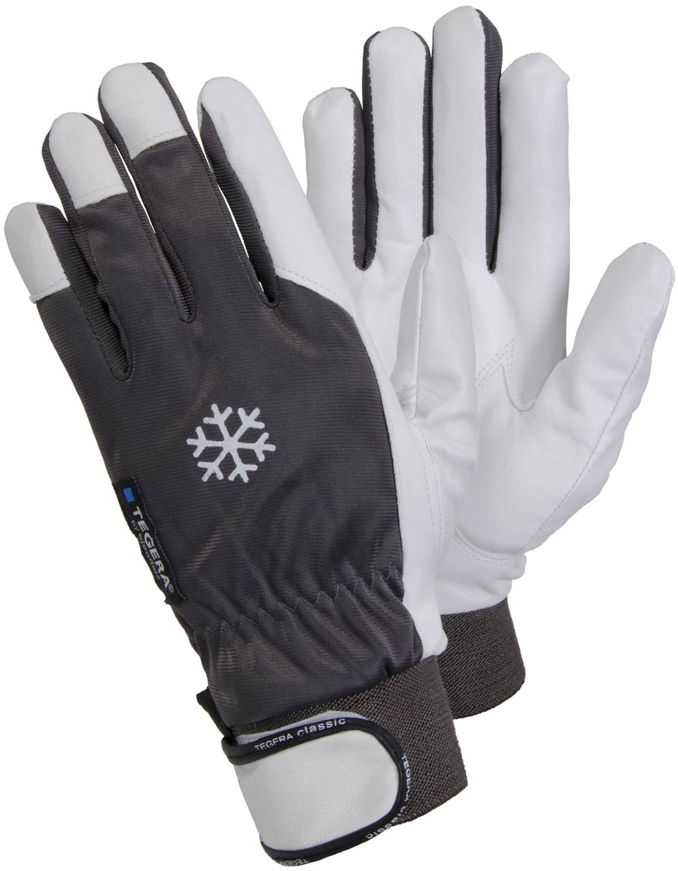 Thermal leather work gloves -