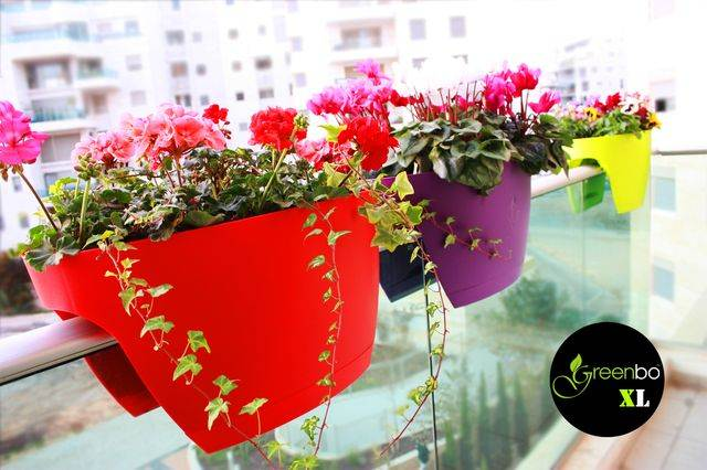Greenbo-Attractive-Xl-Planter-For-Railings-amp-Fences-Gift-Planters-Polipropilane