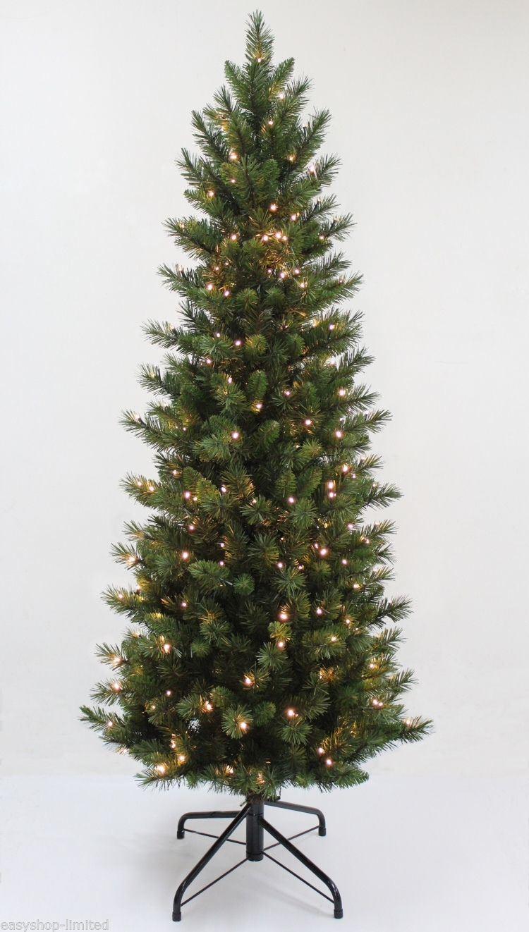 4ft 120cm black pre lit multi colour fibre optic christmas tree with - 6ft 180cm Christmas Tree In Black Green Gold