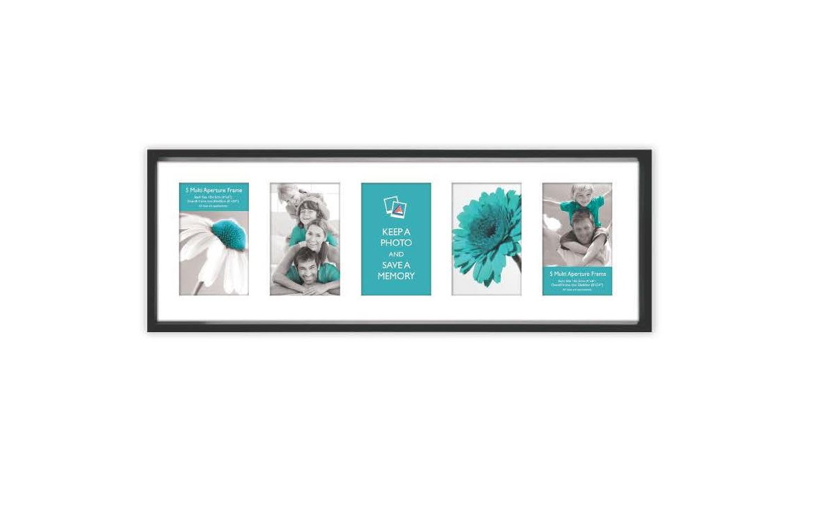 multi aperture photo picture frames holds 10 6 5 3 at