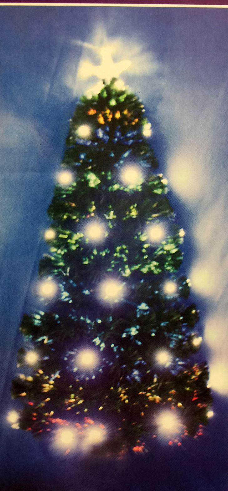 Pre-Lit 6ft/180CM Christmas Tree Black Green Gold Warm ... - photo#33
