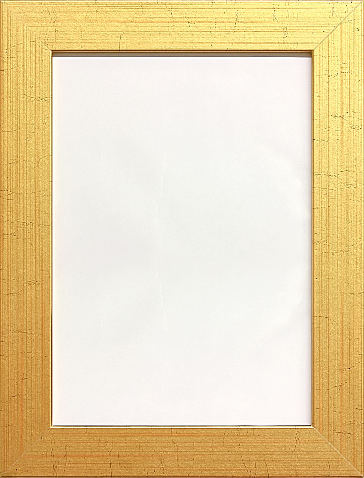 modern flat wide picture photo frame poster frame - White Poster Frame