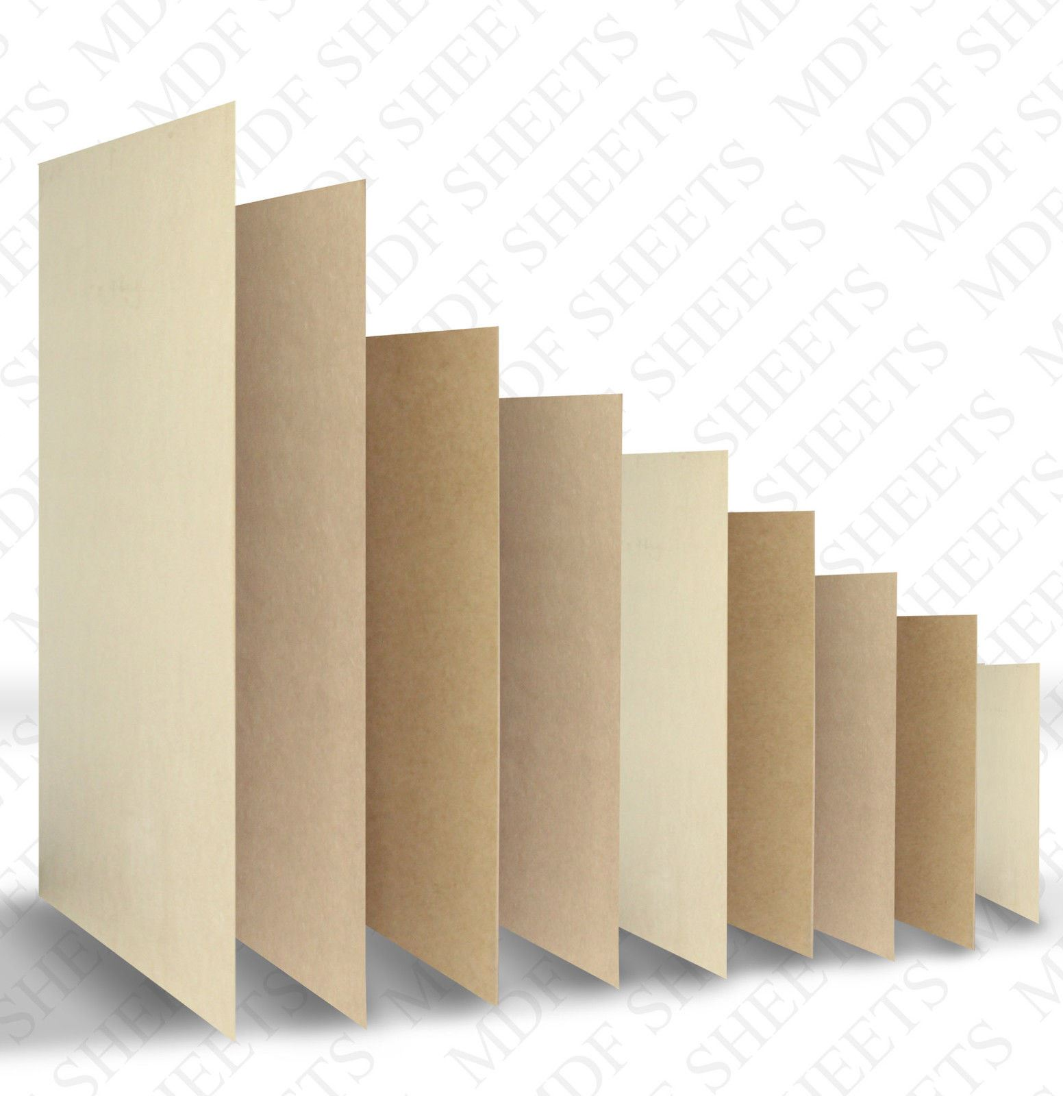 Mdf Sheet Sizes ~ Mdf shhet thickness mm cut craft hobby picture photo