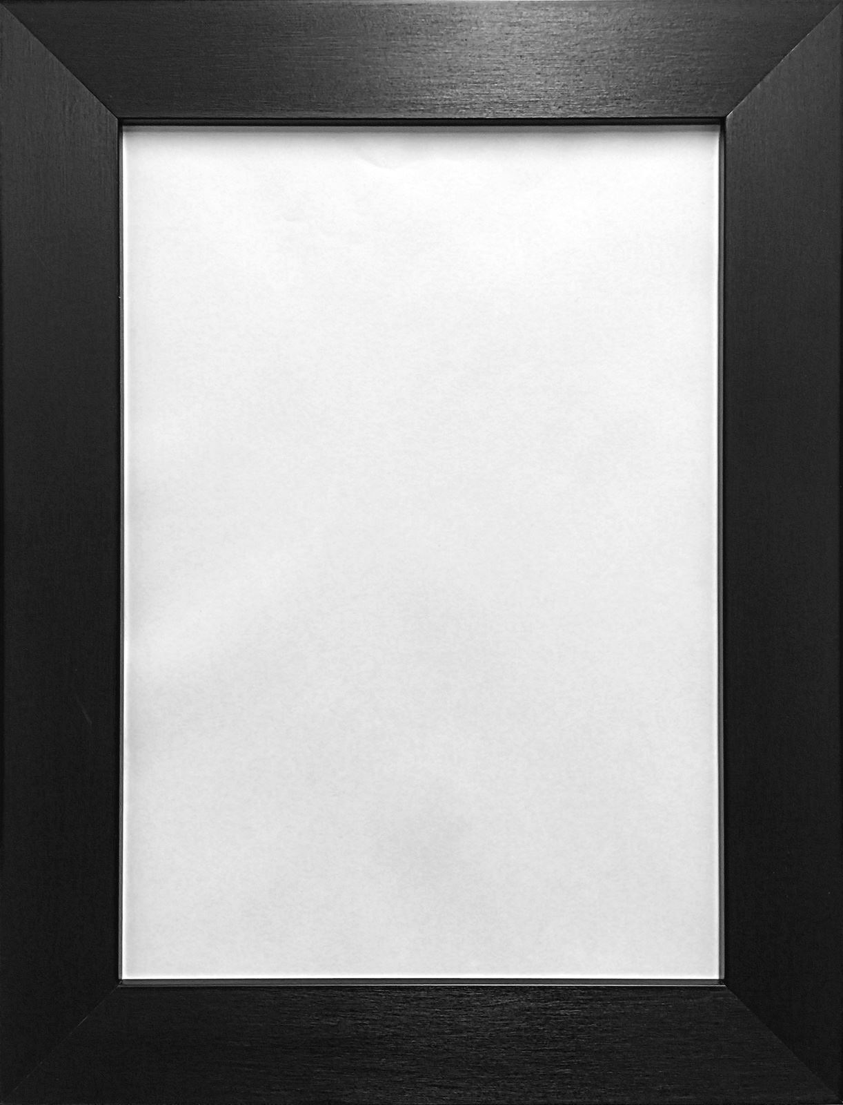 Large photo picture frames brushed finish box frame black for Large a frame