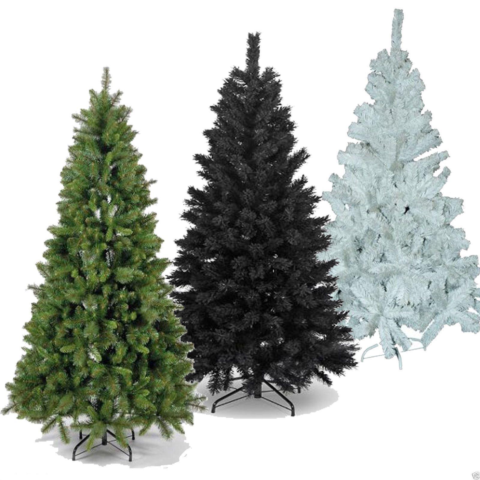 Black Fibre Optic Christmas Tree 6ft