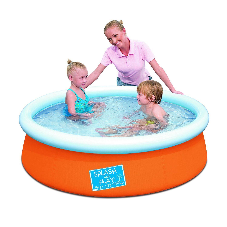 Bestway splash play inflatable play pool matt boxbag tube for Bestway pool