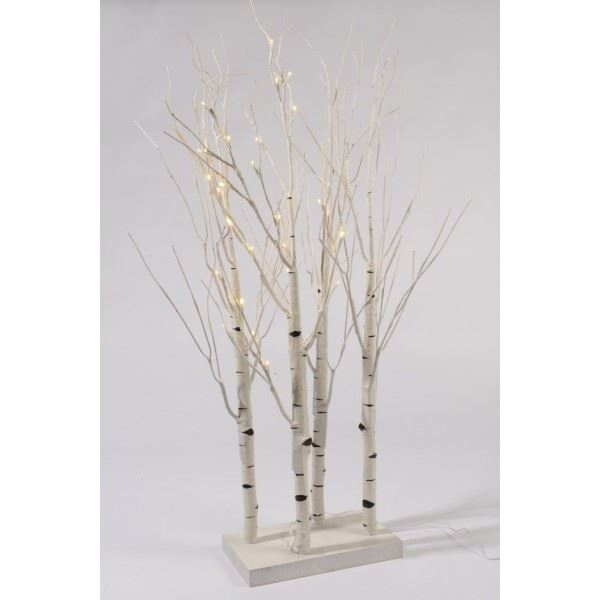 Pre Lit Christmas Twig Tree: PRE-LIT LED BIRCH TWIG TREE 90CM CHRISTMAS TREE INDOOR