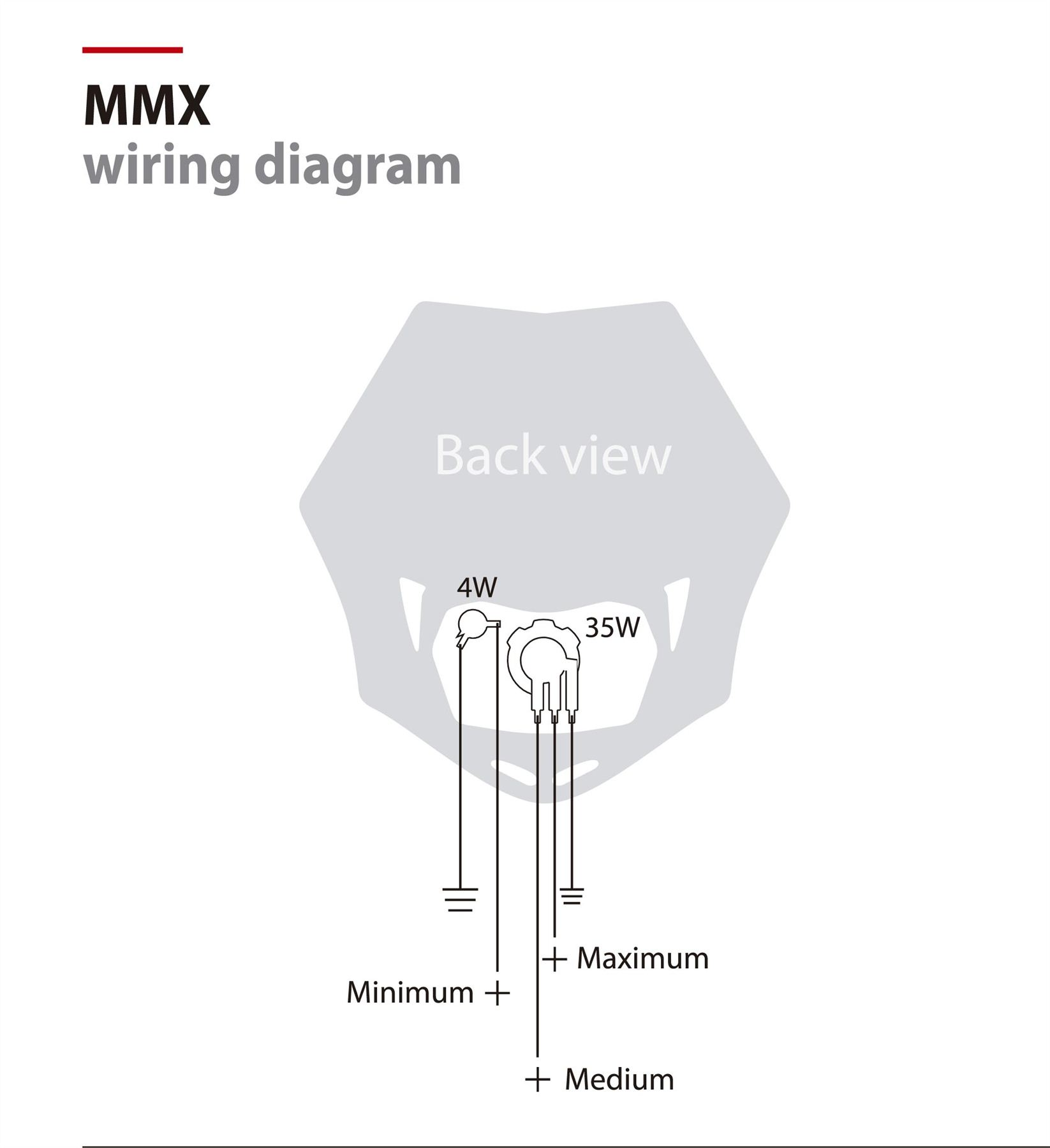 polisport mmx headlight fairing yellow fits yamaha wr400 f k 98