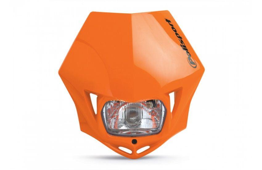 polisport mmx headlight fairing orange fits ktm 640 lc4 e. Black Bedroom Furniture Sets. Home Design Ideas