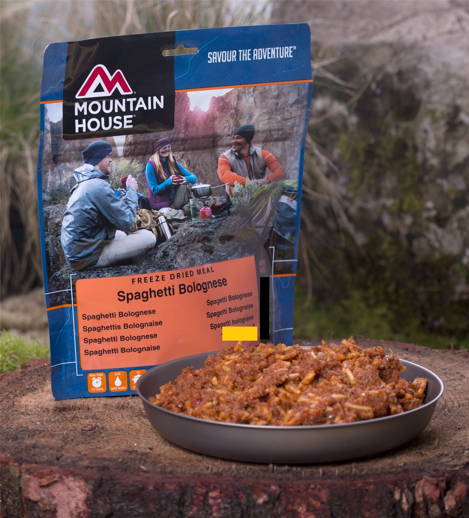 Mountain House Dry Food Ration Packs Lightweight Meals