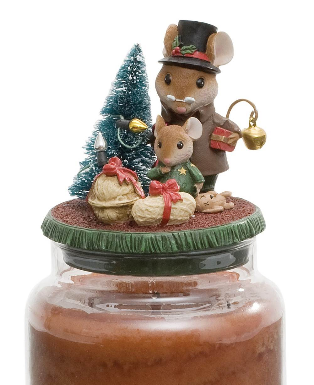 Details about Yankee Candle Night Before Christmas Theme Jar Topper ...