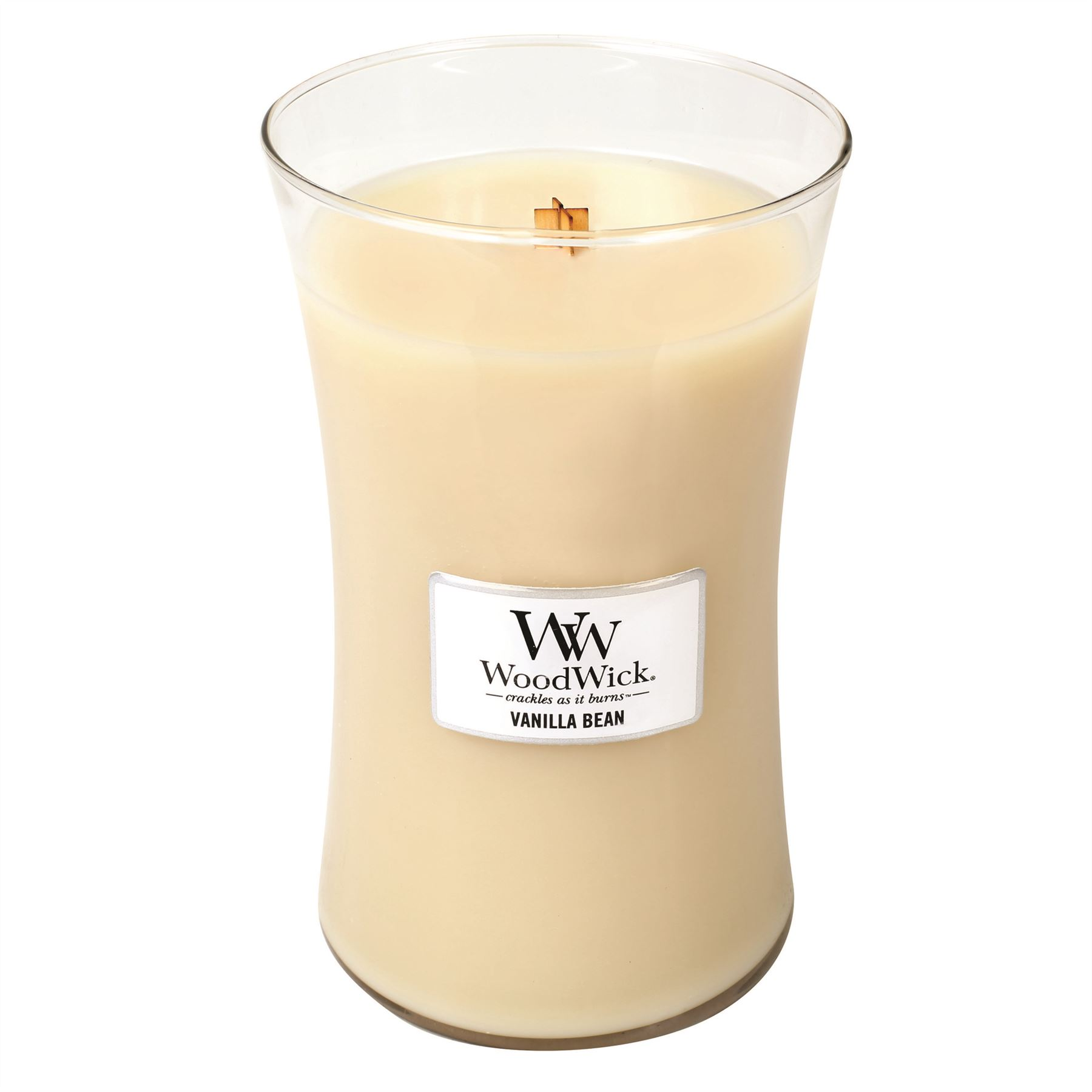 Woodwick Large Jar Candles Various Fragrances Crackle Wick upto 180hrs Burntime