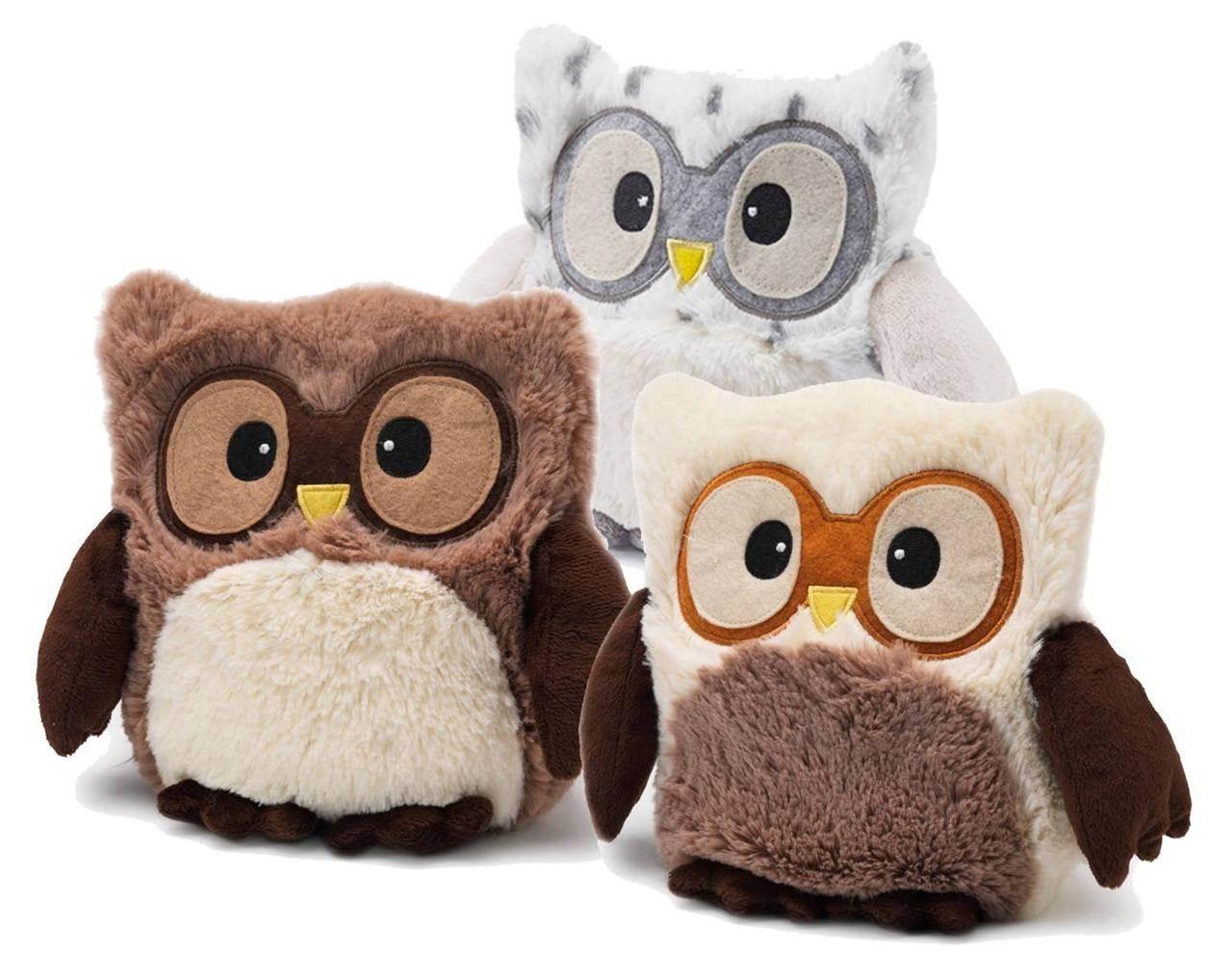 Hooty le hibou micro ondes chauffant chauffe cute owls par - Bouillotte gel micro onde ...